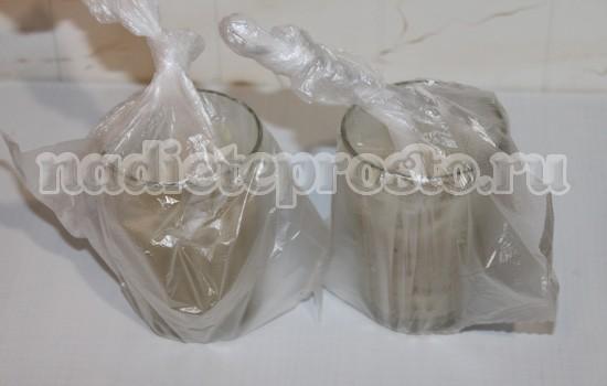 Стаканы в пакетах