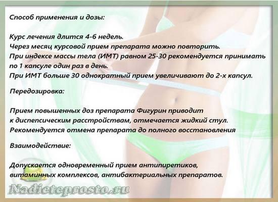 Инструкция по препарату Фигурин