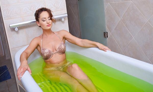 Хвойные ванны для похудения