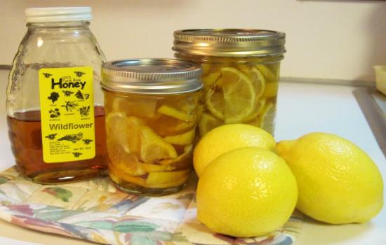 лимонно-медовый десерт