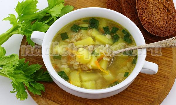 диетический овсяный суп
