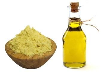 масло и горчица