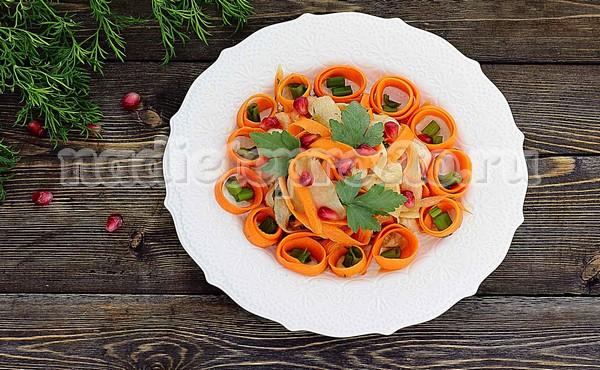 салат из топинамбура готов