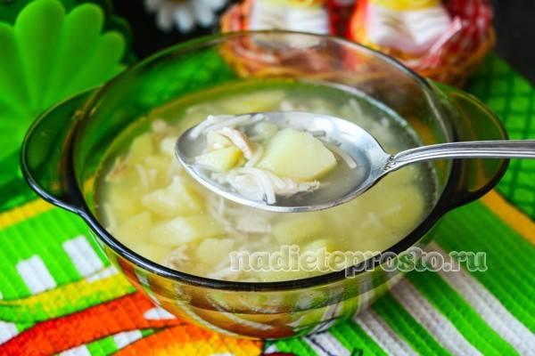 куриный суп готов