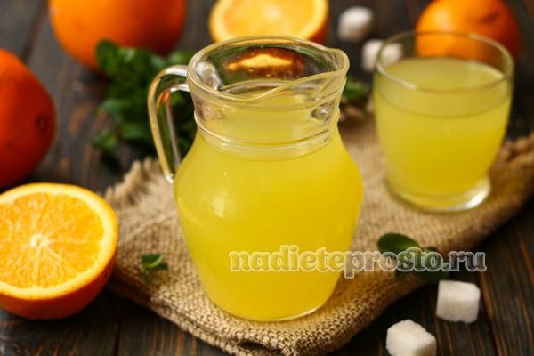 лимонад готов