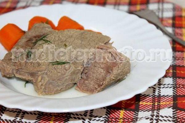отварная говядина