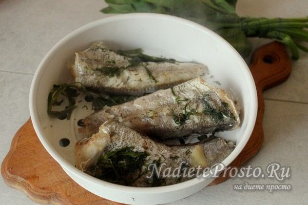 остудить готовую рыбу