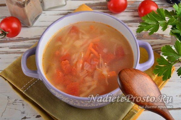 луковый суп готов