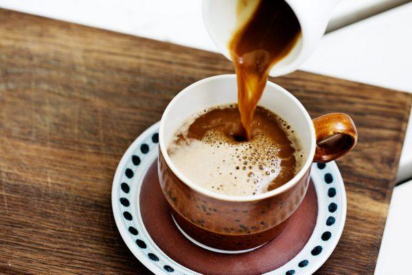 кофе сваренный с маслом
