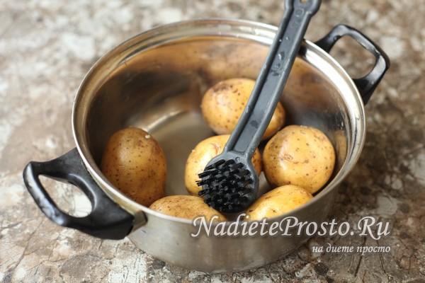 Как и сколько варить картофель в мундире, чтобы получился вкусно