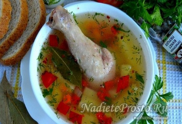 9 простых и вкусных супов для похудения и пп