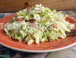 салат с грушей и капустой